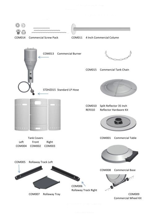 Parts For Gas Patio Heaters Patio Ideas